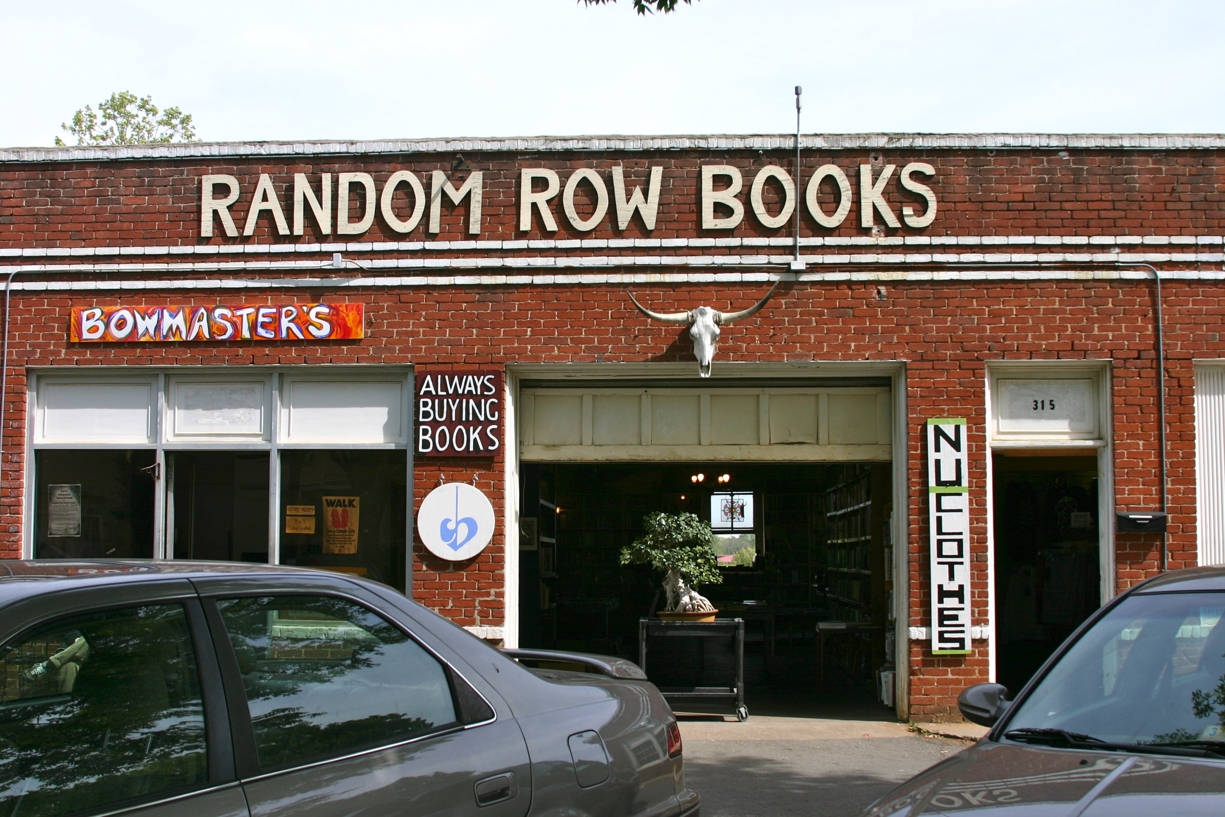 Random Row Books, Main St., Charlottesville, Va., April 2012