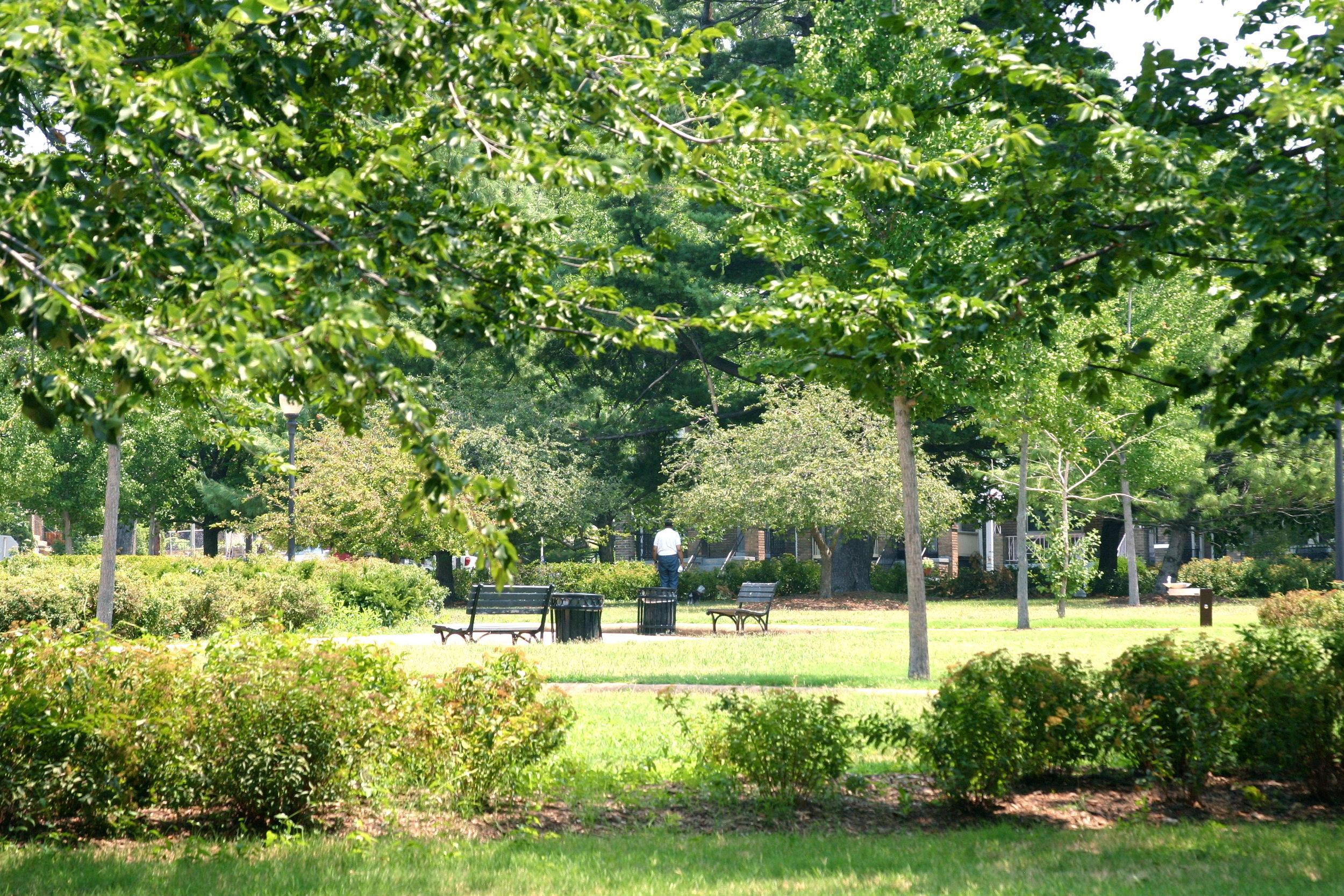 Grant Circle, Petworth, Washington, DC, July 2012