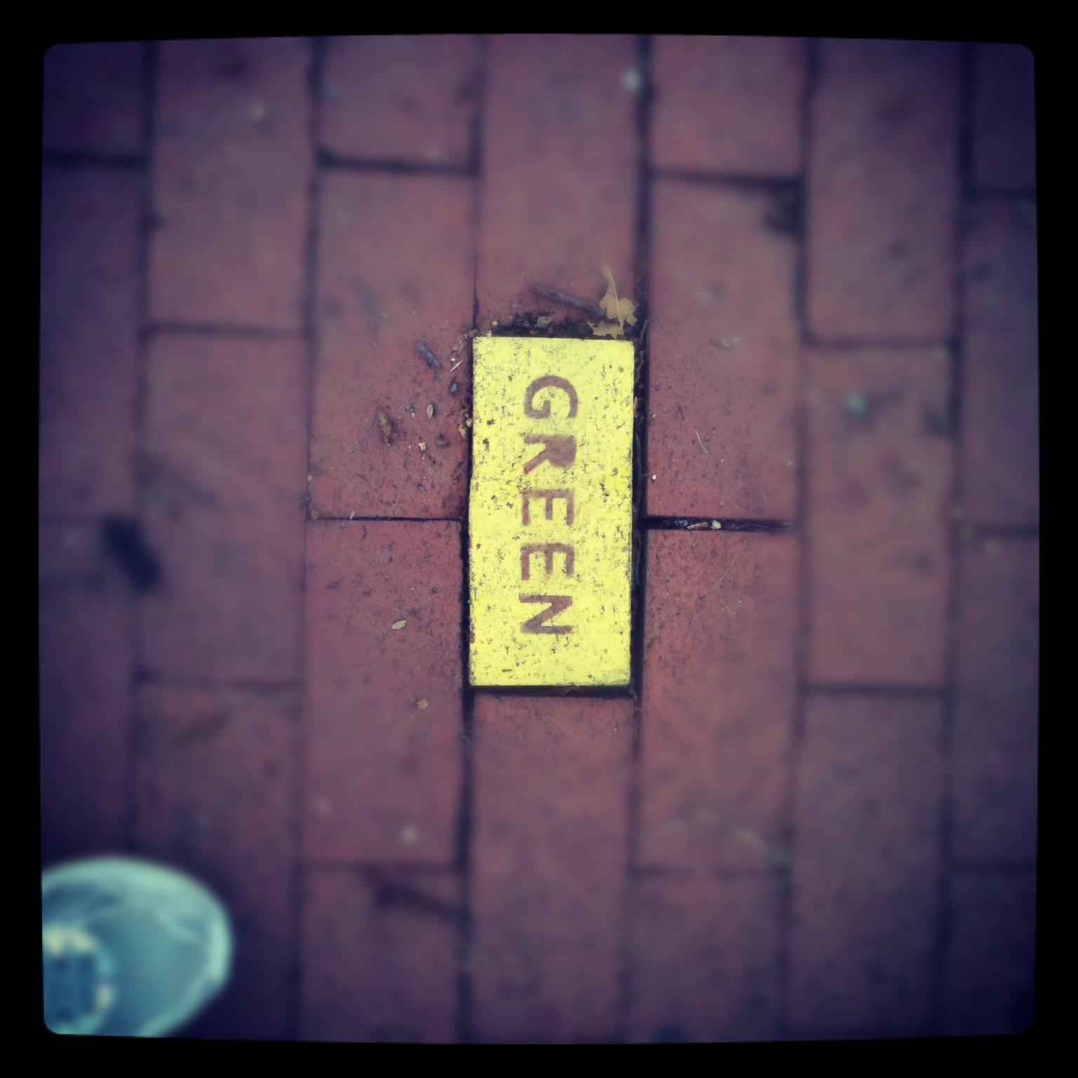 Bricks. Capitol Hill, Washington, DC, July 2012