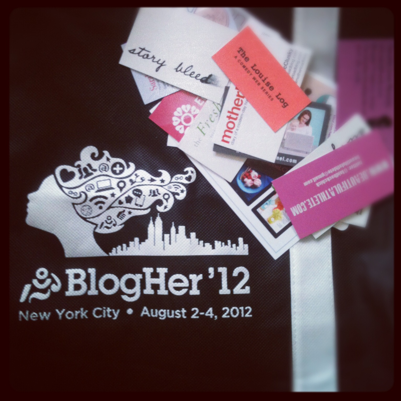 BlogHer, New York City, August 2012