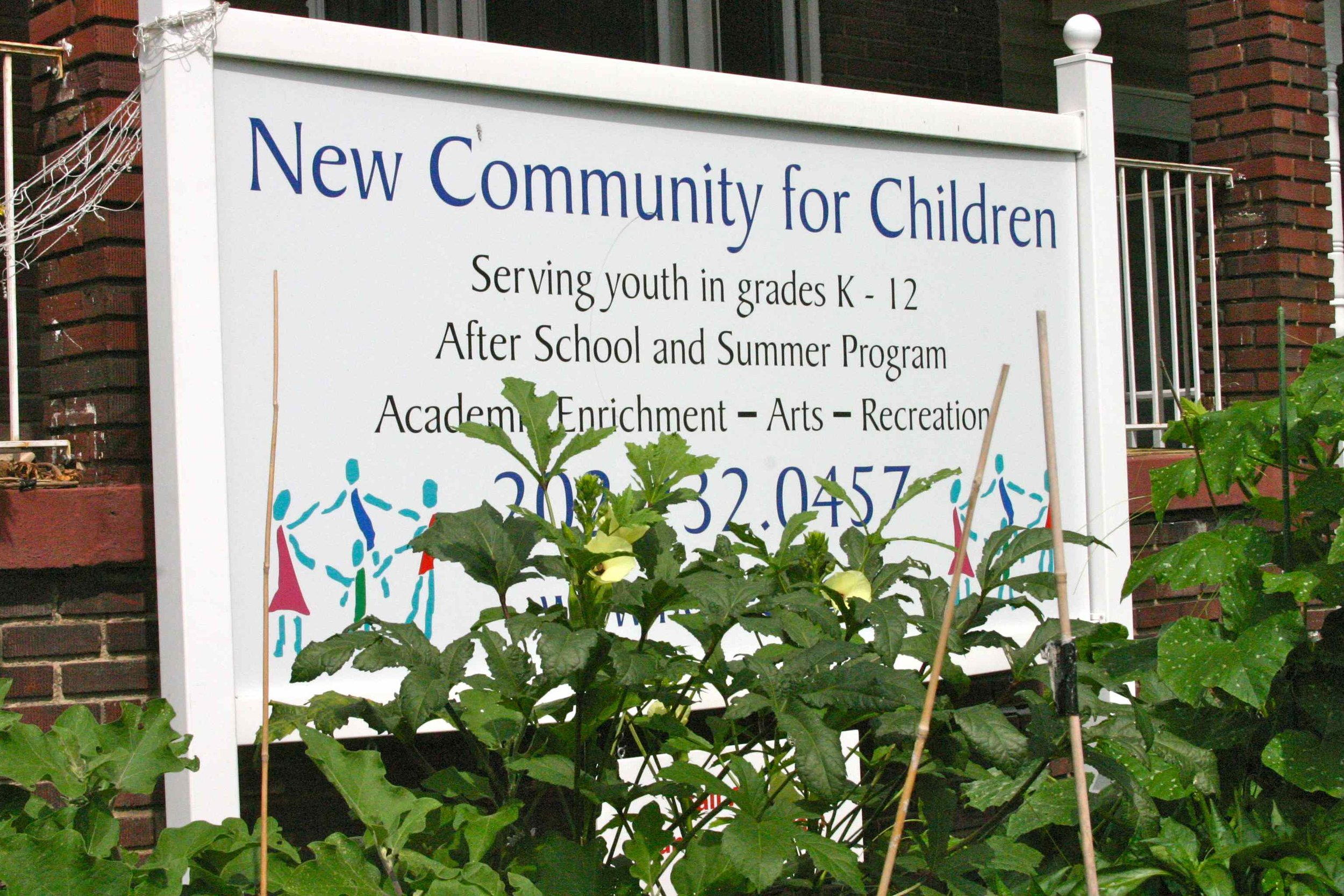 New Community for Children, Shaw-Howard, Washington, DC, July 2012