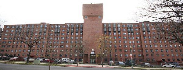 Former Arthur Capper senior home, Southeast, Washington, DC, Photo Credit: JDLand.com