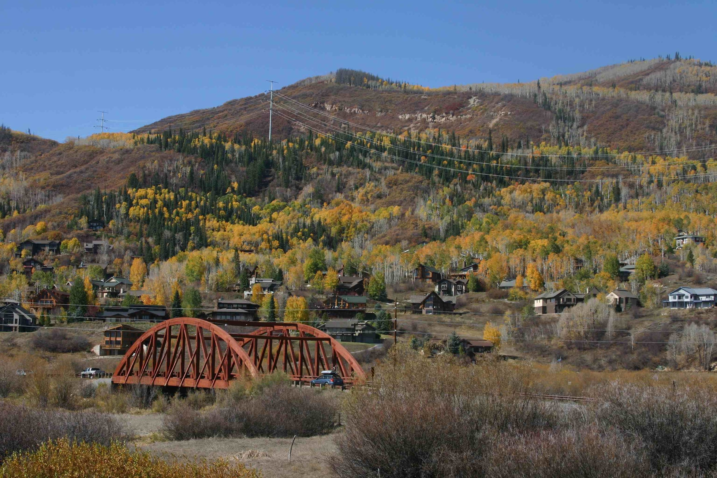 Yampa River Valley, Steamboat Springs, CO, October 2012