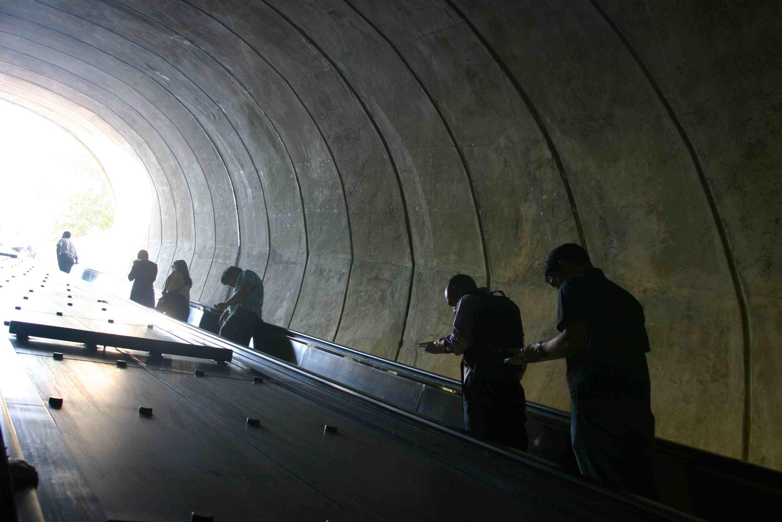 Dupont Circle Metro, Washington, DC, September 2012