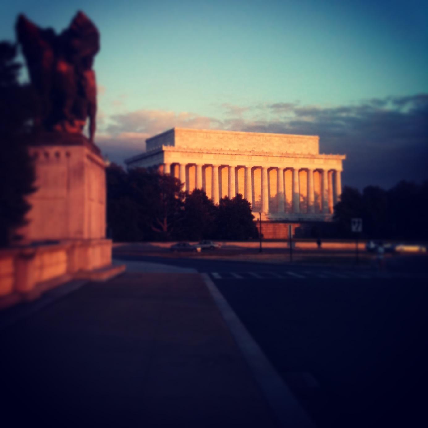 Lincoln Memorial, Washington, DC, January 2013