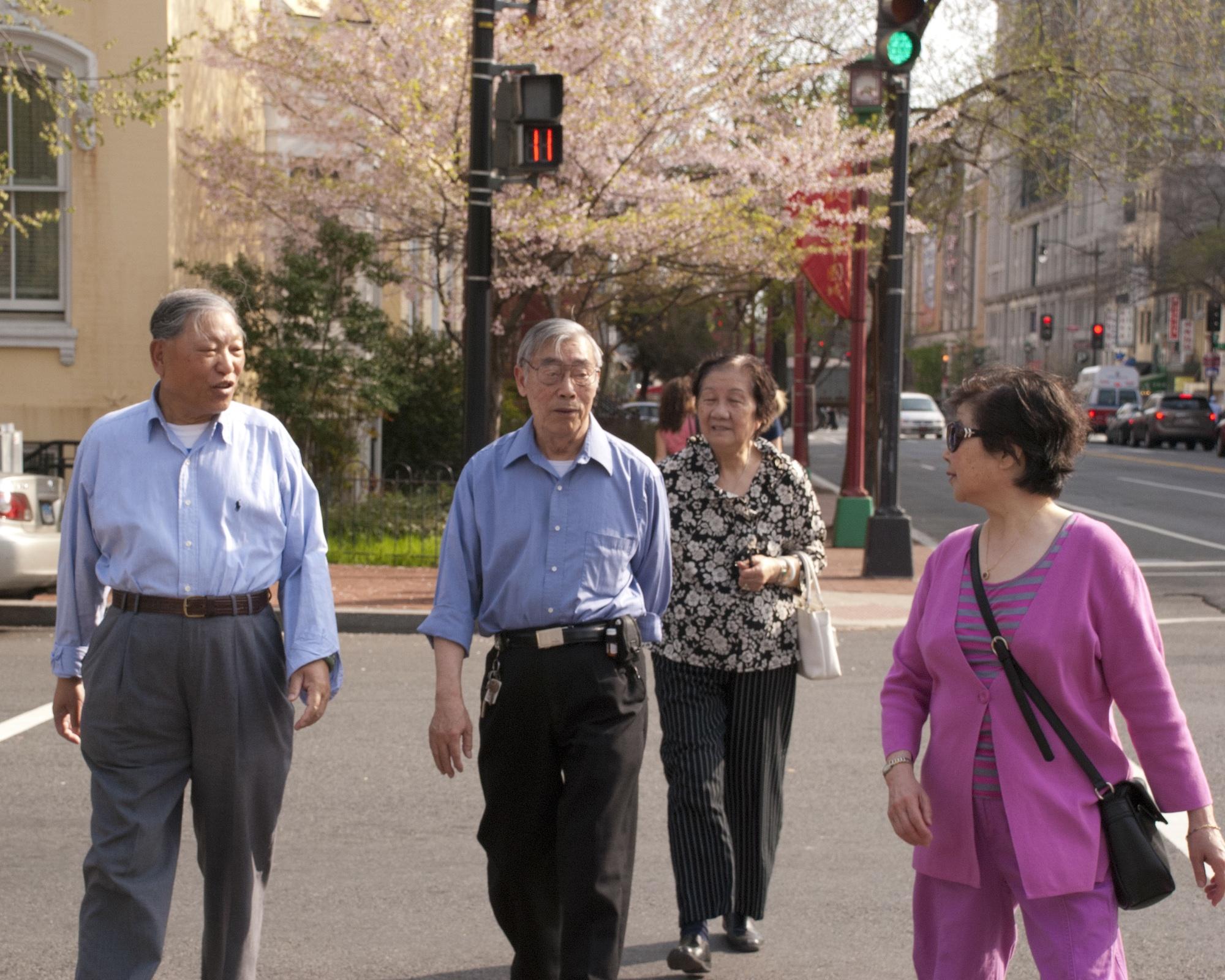 Wah Luck House seniors, Photo Credit: Yi Chen