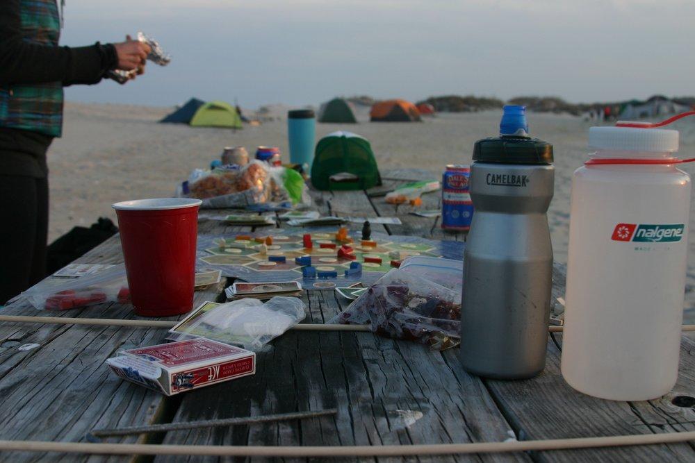 beach camping, assateague island, april 2013