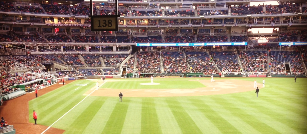 Nationals Park, April 3, 2012, Washington, DC