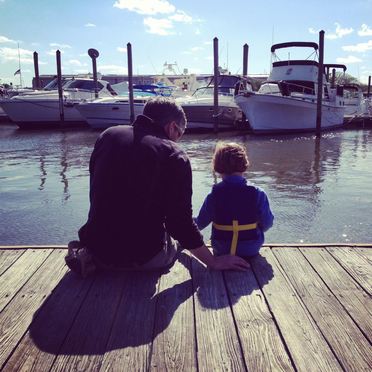 Columbia Island Marina, Potomac, April 2013