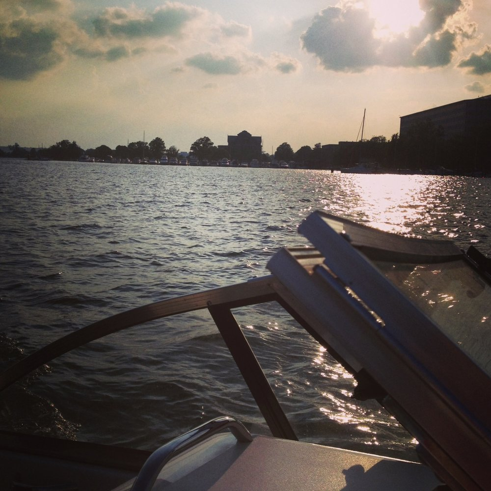 Anacostia River, Washington DC, May 2013. Photo by Kate Gallery