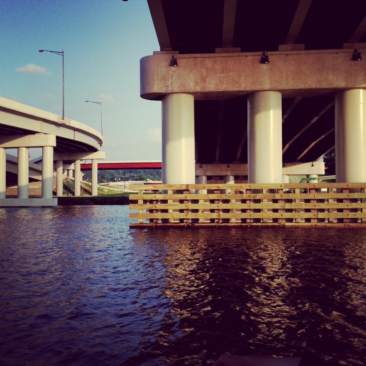 Anacostia River, Washington DC, May 2013. Photo by Kate Gallery
