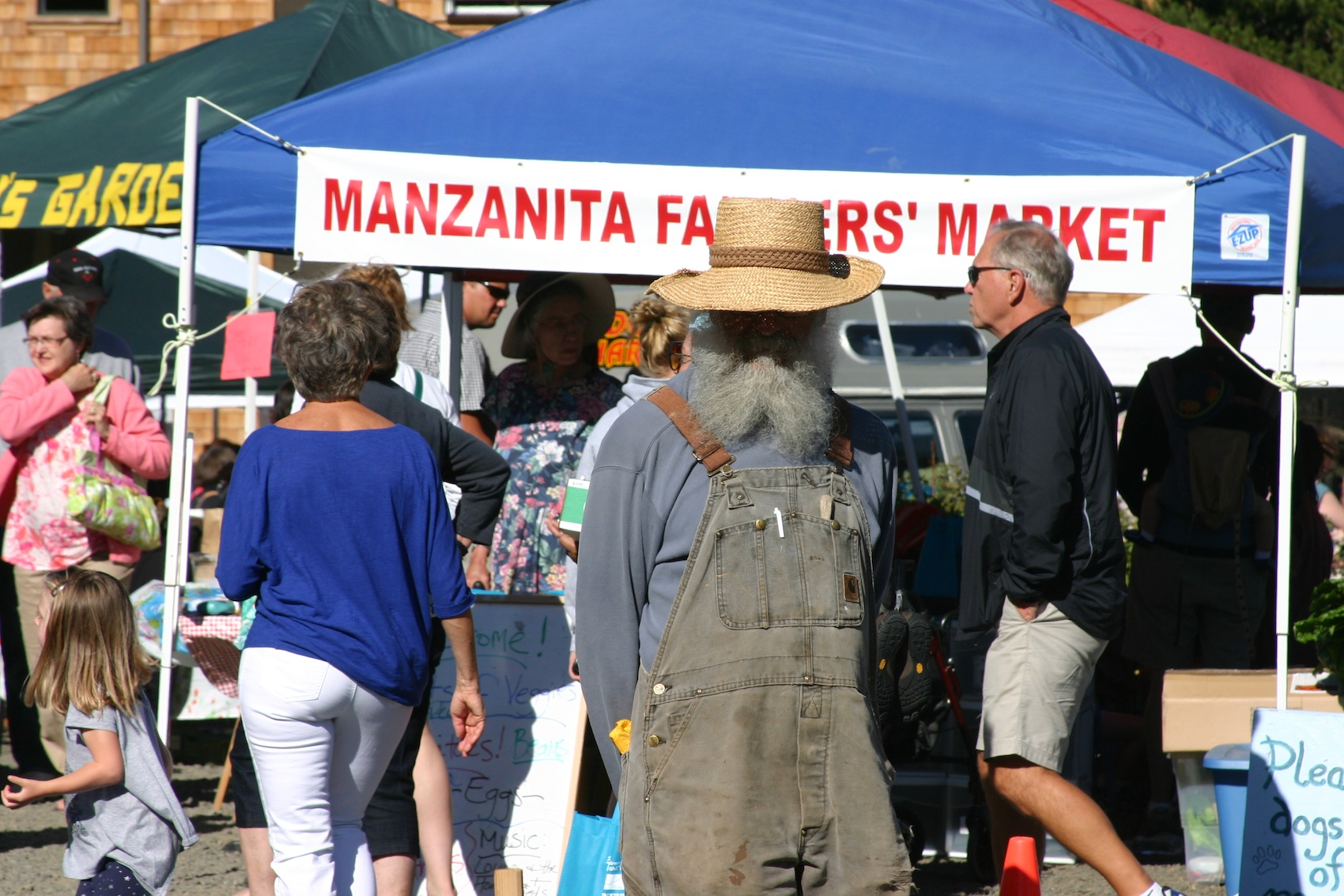 farmers market, manzanita, or