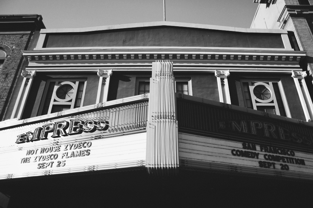 Empress Marquee BW