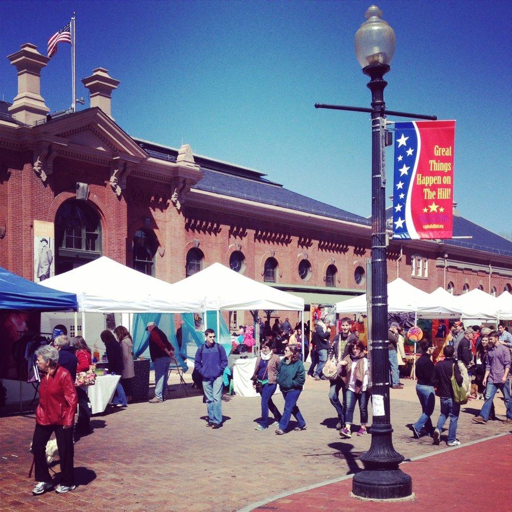 Eastern Market April '14, Photo: Kate Gallery, Neighborhood Nomads