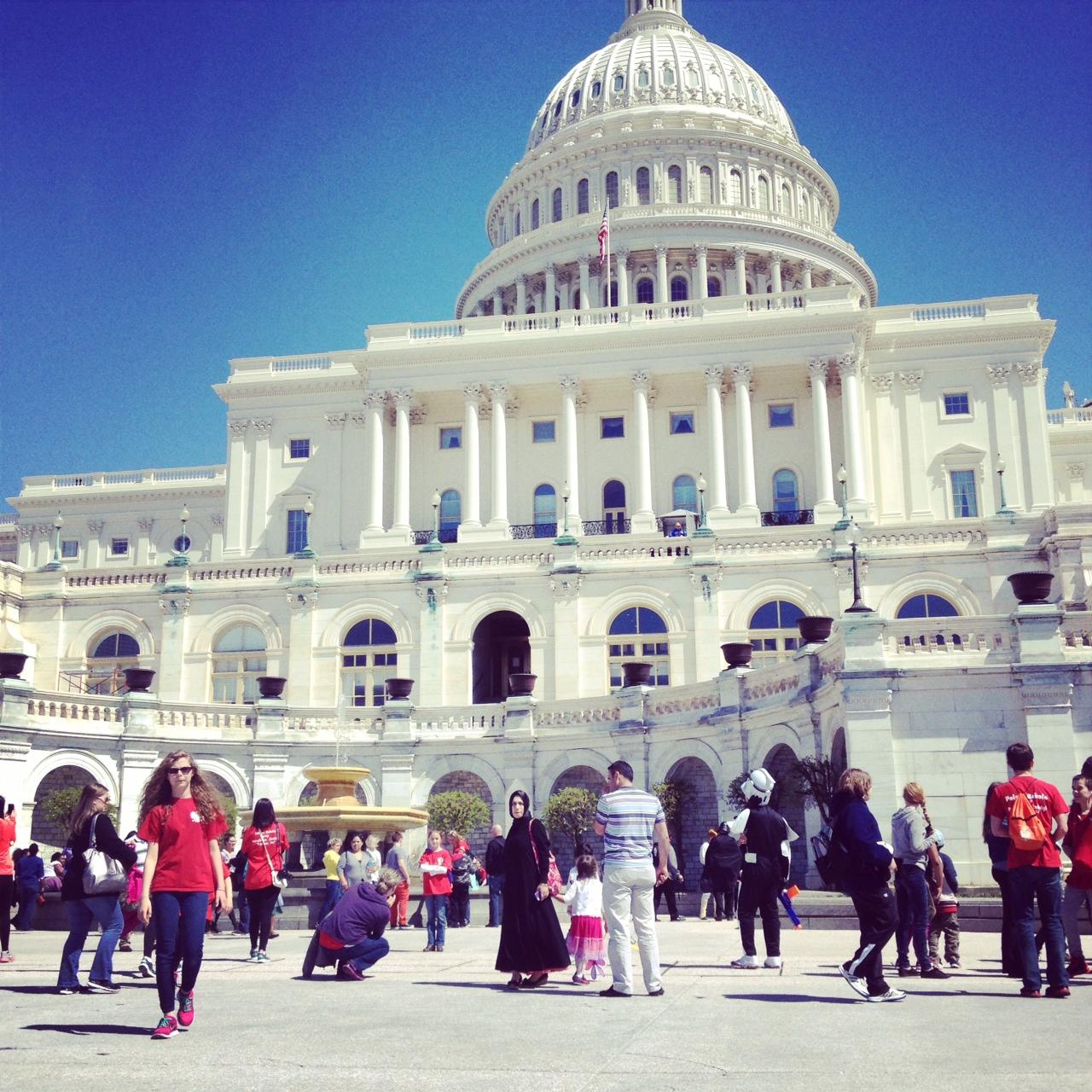 US Capitol, April '14, Photo: Kate Gallery, Neighborhood Nomads