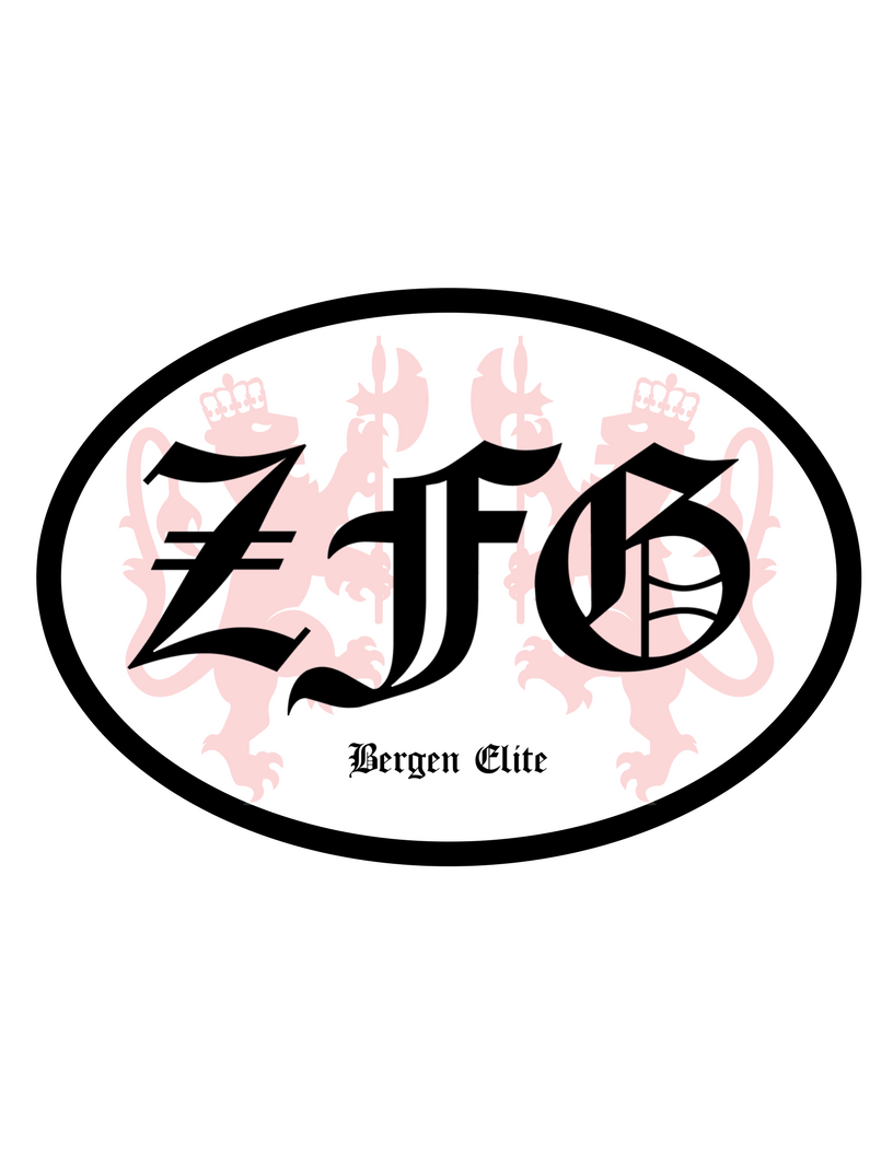 Zfg car sticker