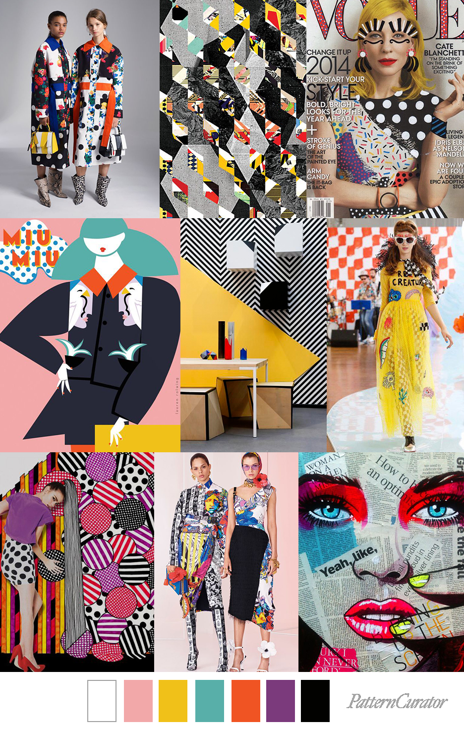 Pattern Curator POP COLLAGE