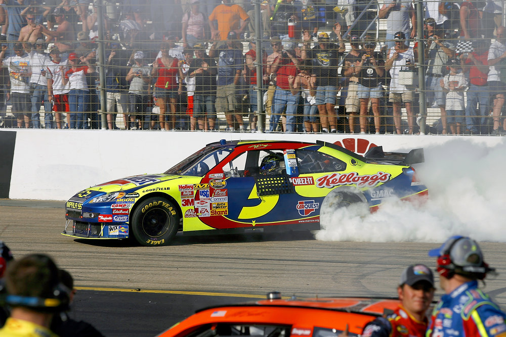 #5-411 - Hendrick Motorsports Chassis #5-411 is an Impala SS that was raced by Kyle Busch four times during the 2007 Cup Series season. It won the first