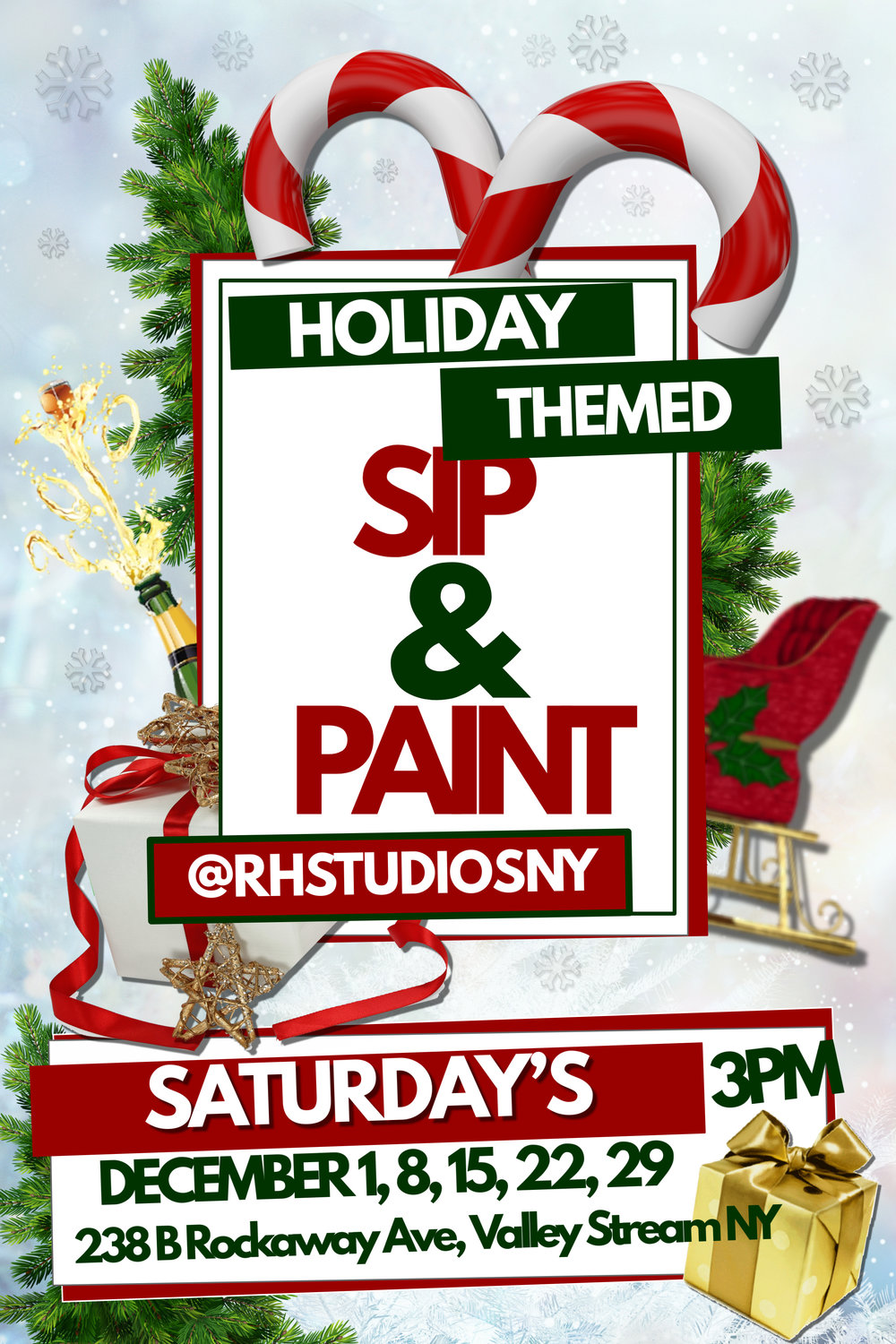 Every Saturday In December! - Come Celebrate the Holiday Season with Friends & Family
