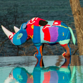 Made from recycled flip flops. Amazing!