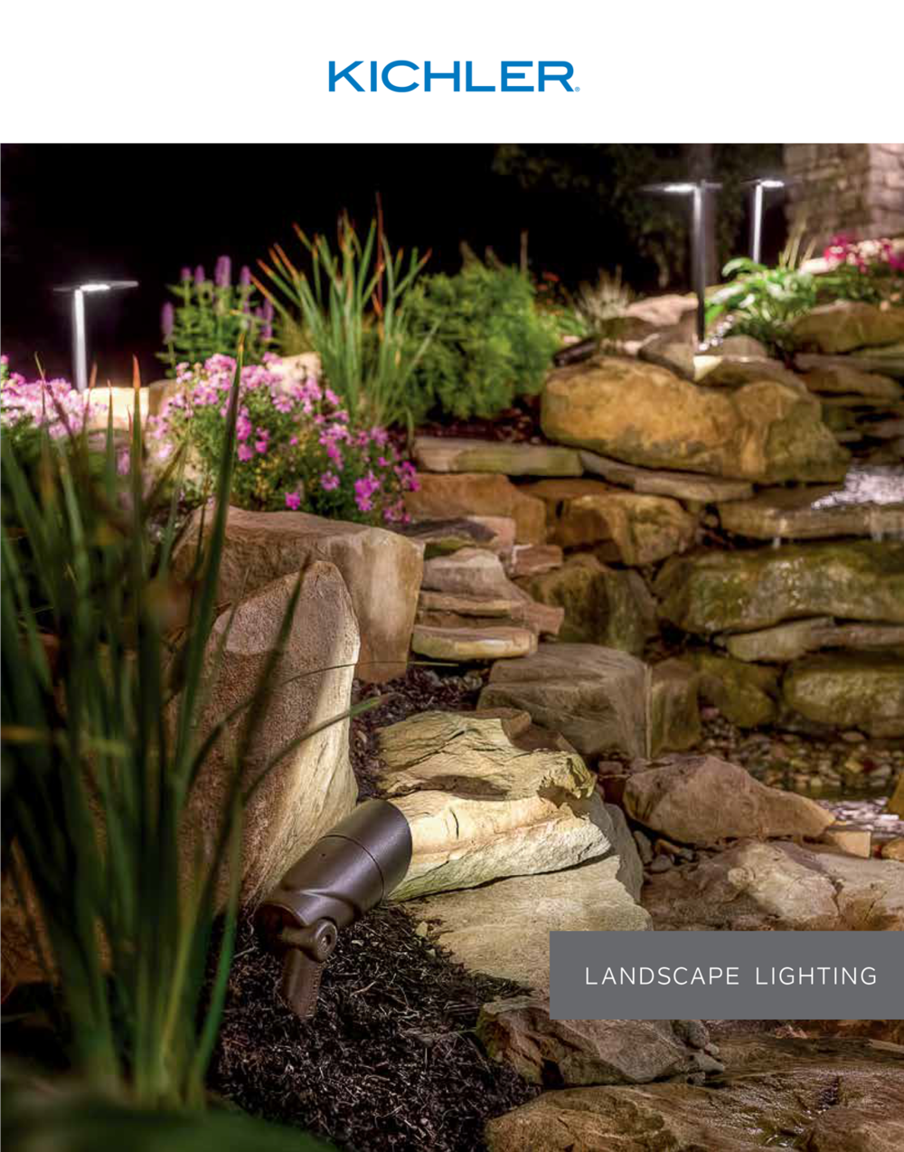 Kichler landscape lighting -