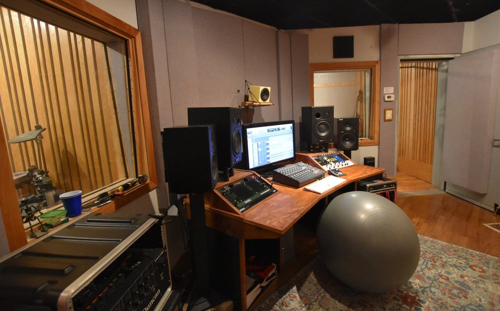 Recording Studio Time - For information about recording studio rental, production or other questions, contact our recording studio tenant Patrick Doyle at: pelyod@gmail.com