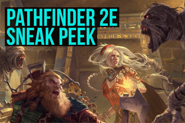 Pathfinder 2e Sneak Peek | High Shelf Gaming
