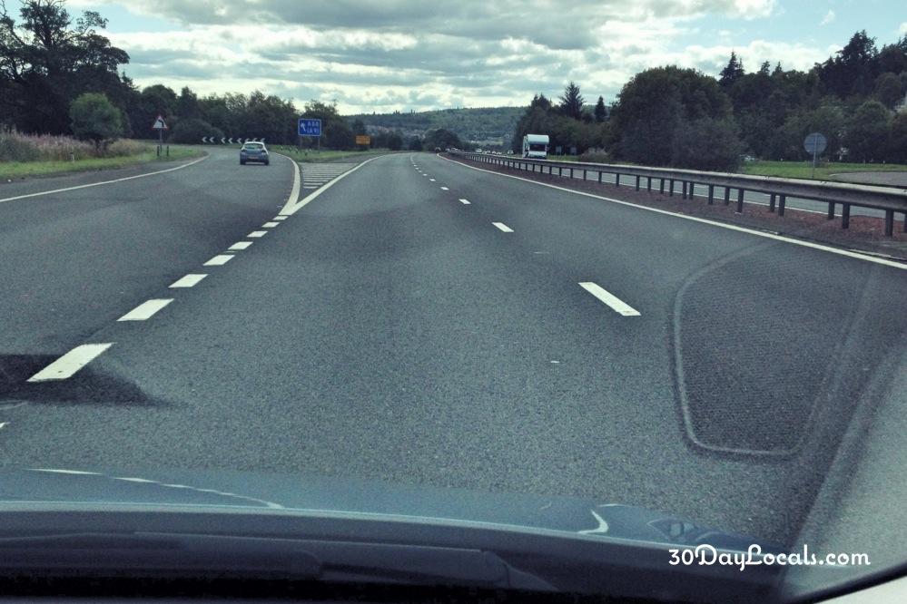 Highway England Scotland