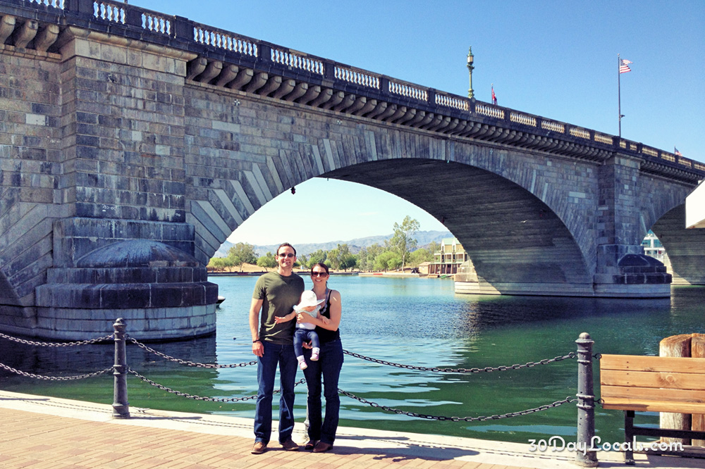 30 Day Locals at the London Bridge Lake Havasu