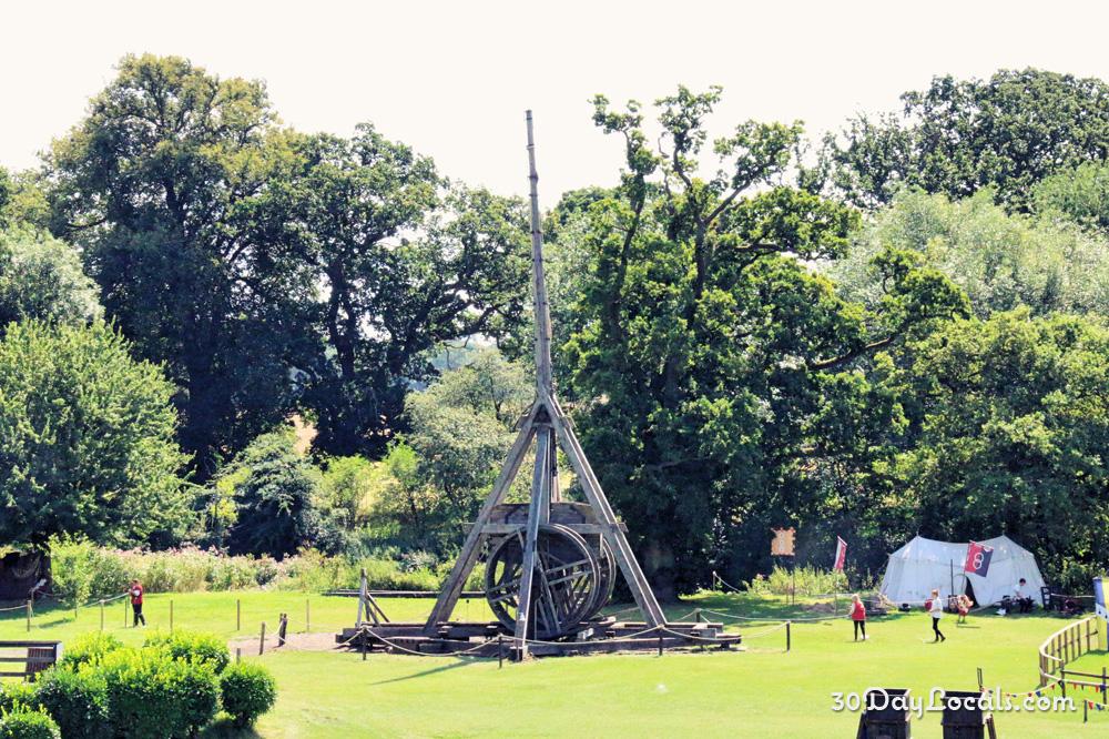 Warwick Castle Trebuchet