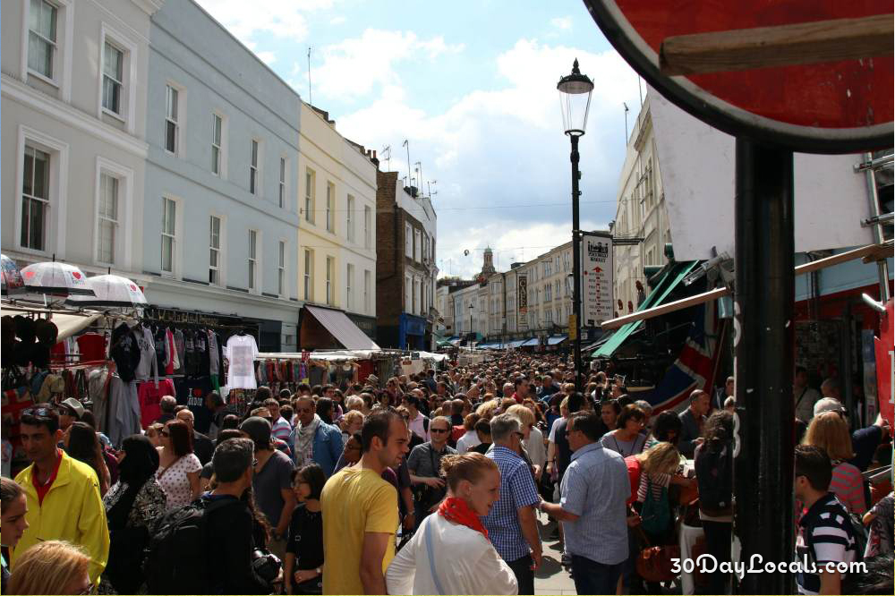 Notting Hill Portobello Road Market