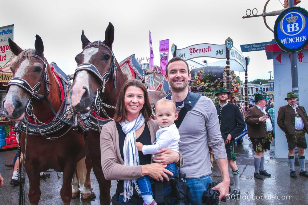 Yes, you can visit Oktoberfest in Munich with kids! See our top tips here.