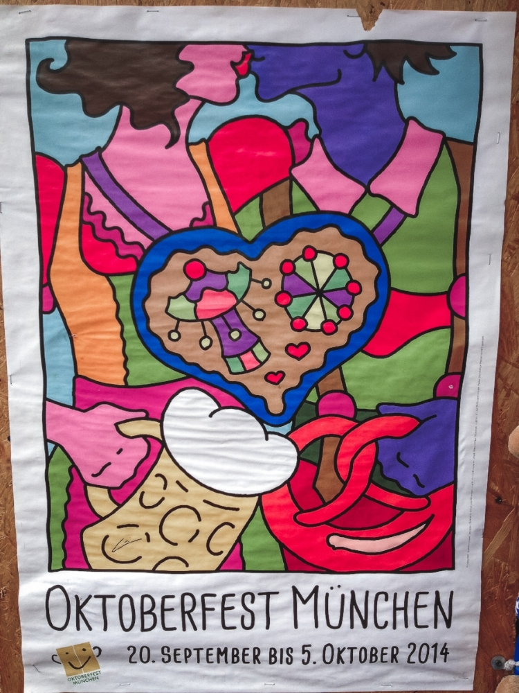 I just love the posters from Octoberfest!