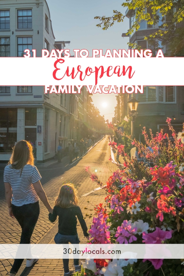 Dream of seeing Europe with your kids, but don't know where to begin? Join me on a 31 day challenge to planning your European family vacation. We spent the summer vacationing in Europe and want to share our best tips and tricks with you for free!