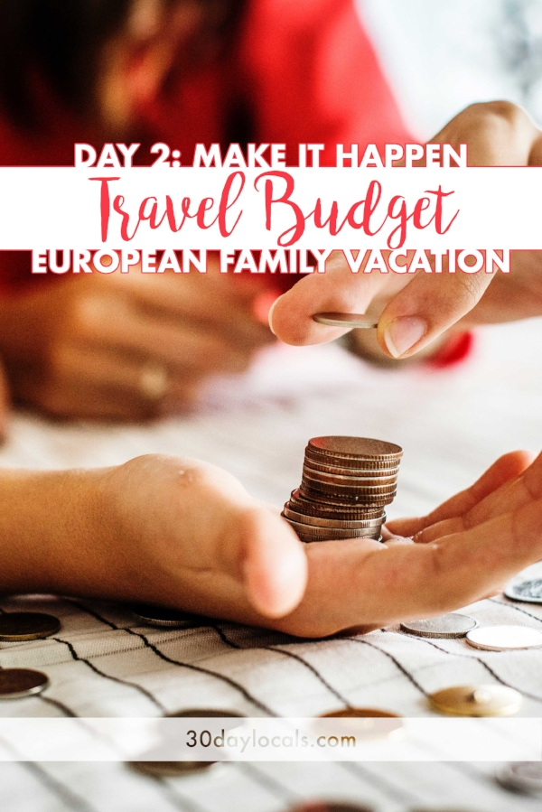Pick up your FREE travel budget template for your family vacation to Europe or elsewhere. Make sure to make great memories and not stress about money while you are on holiday.