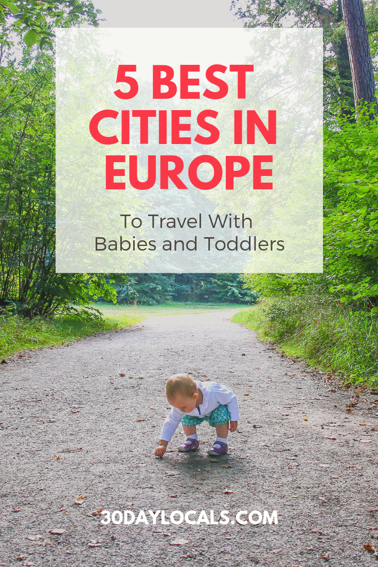 5 Best Cities in Europe to Travel with a Baby or Toddler