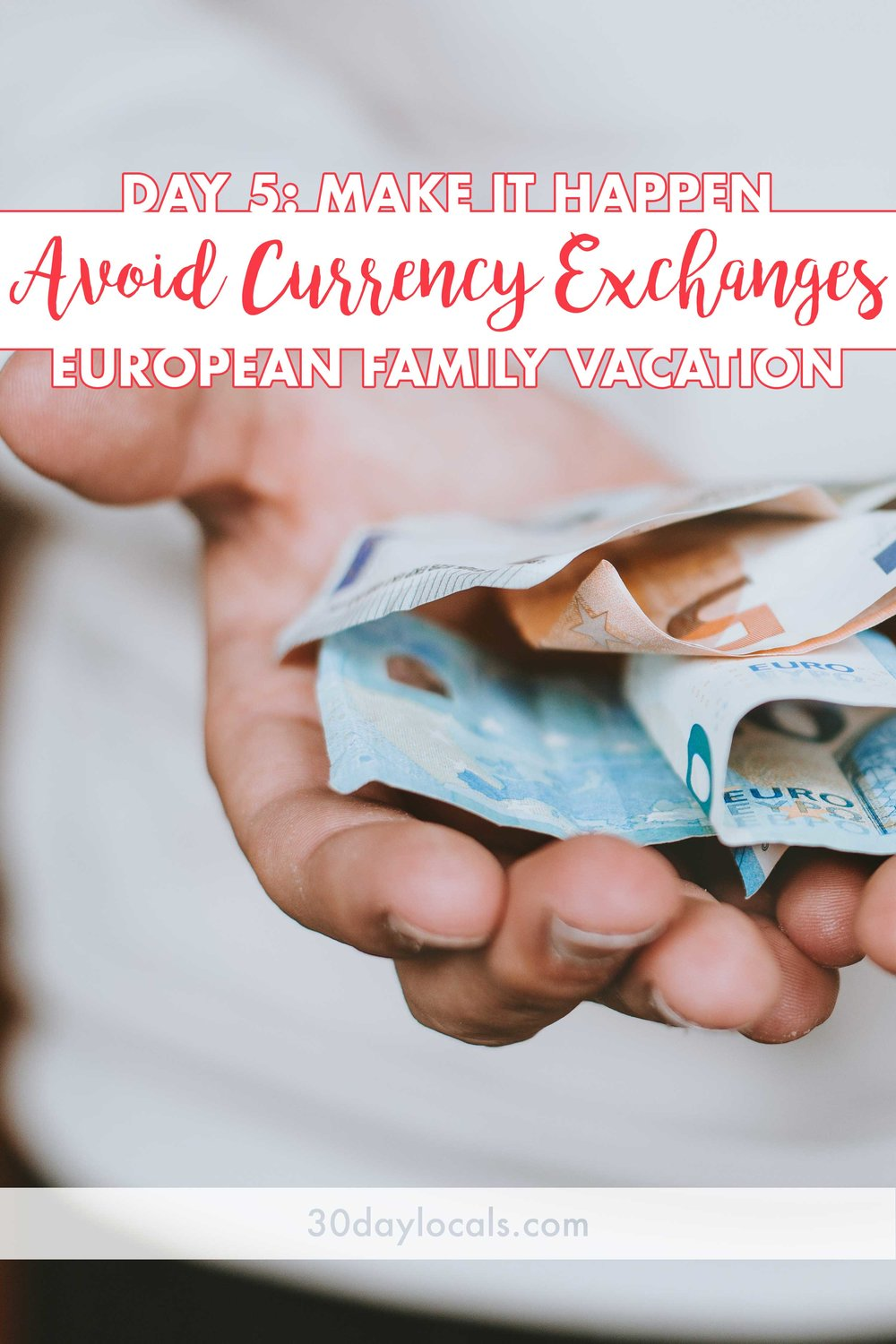 Does using foreign money make you a bit uncomfortable? Discover how we get the best value for our money by avoiding currency exchanges, not carrying much cash, and using ATMs instead.