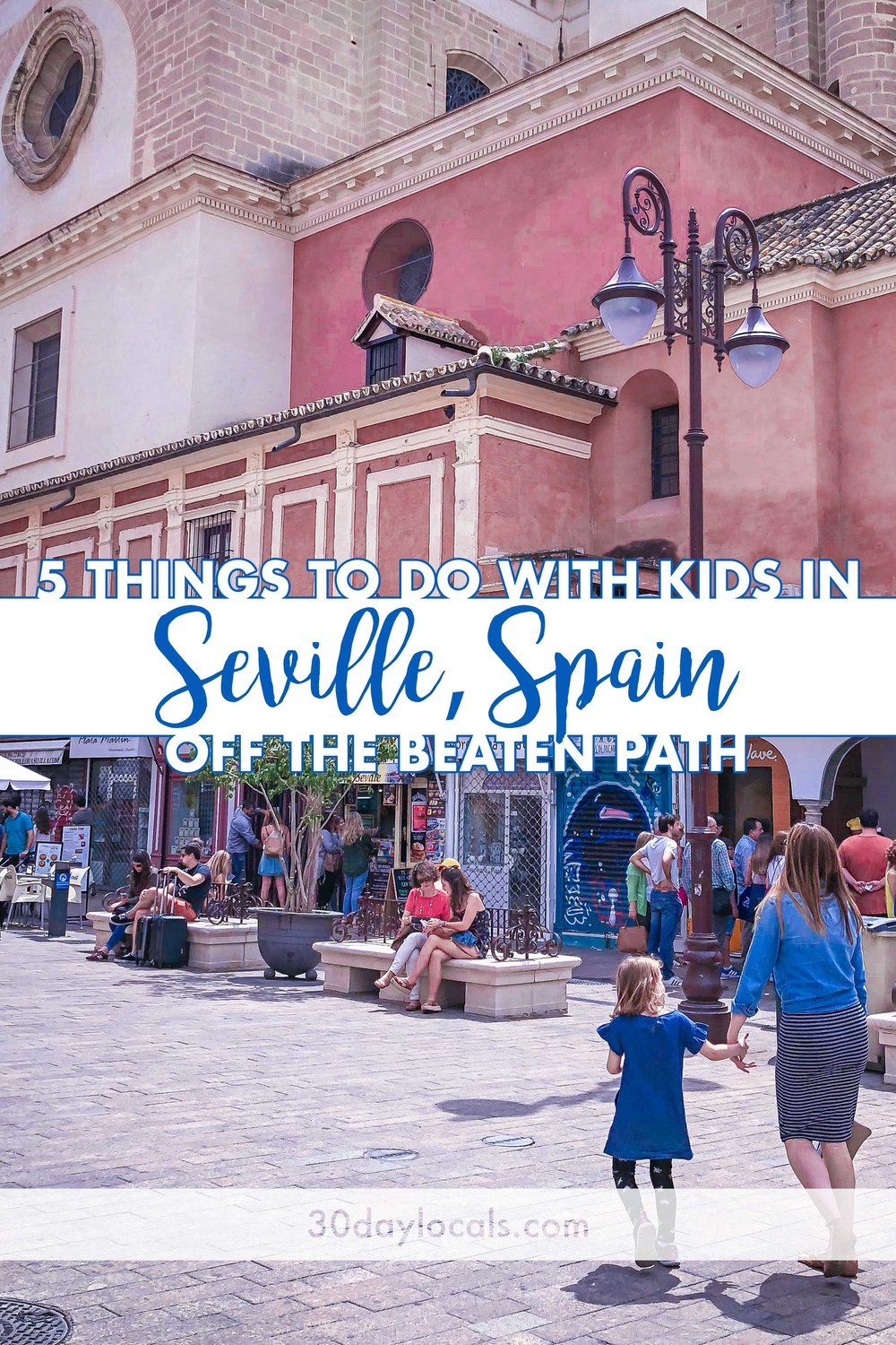 5 things to do off the beaten path in Seville Spain with kids. Make this vacation one to remember forever. #familyvacation #vacationideas