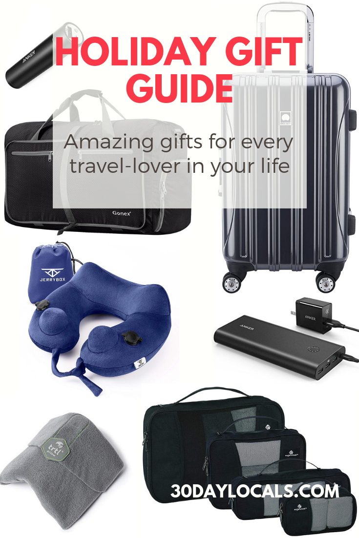 Looking for the perfect gift for the traveler in your life? This holiday gift guide has you covered for every travel-lover you know.