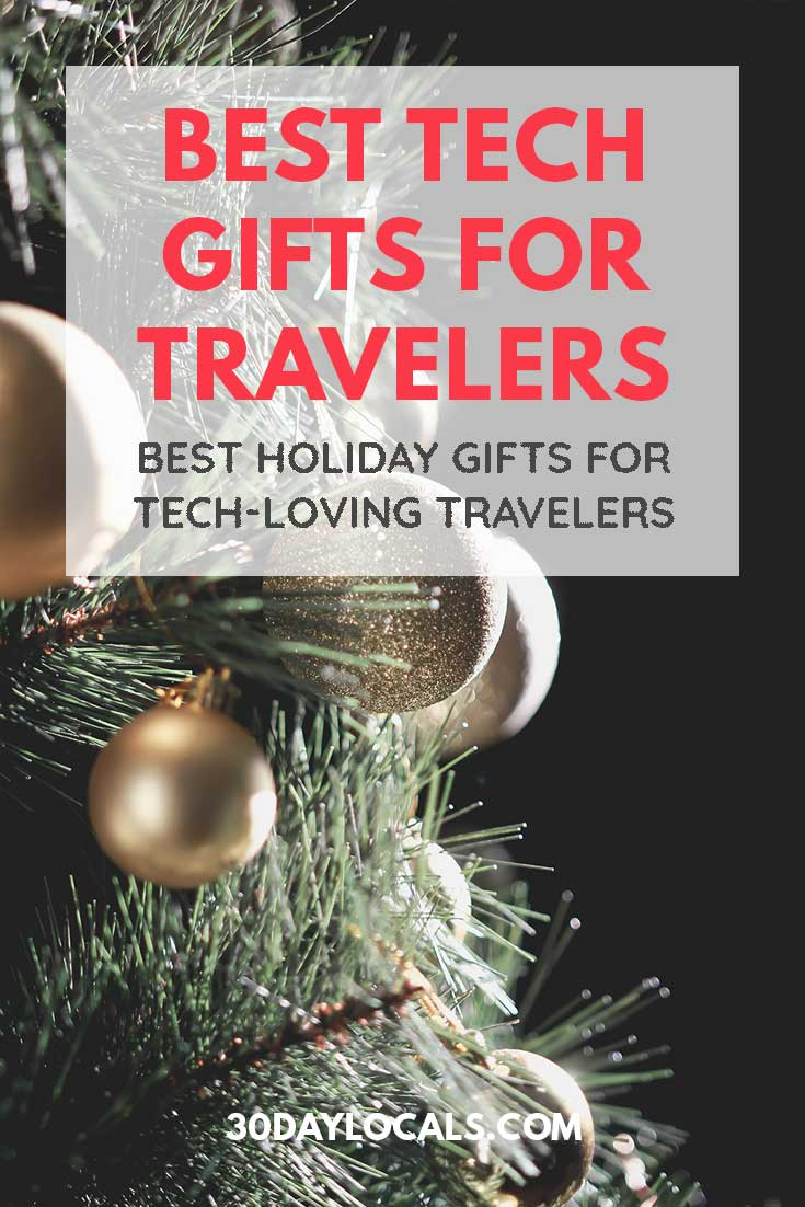 Gift Guide for Travelers who Love Technology: These are the holiday gifts tech-lovers who travel actually want. #holidaygifts #holiday #christmasgift #giftidea #giftguide