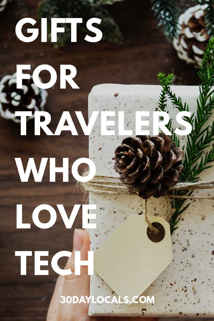 Gifts for Travelers who Love Tech: These are the holiday gifts tech-lovers who travel actually want. #holidaygifts #holiday #christmasgift #giftidea #giftguide