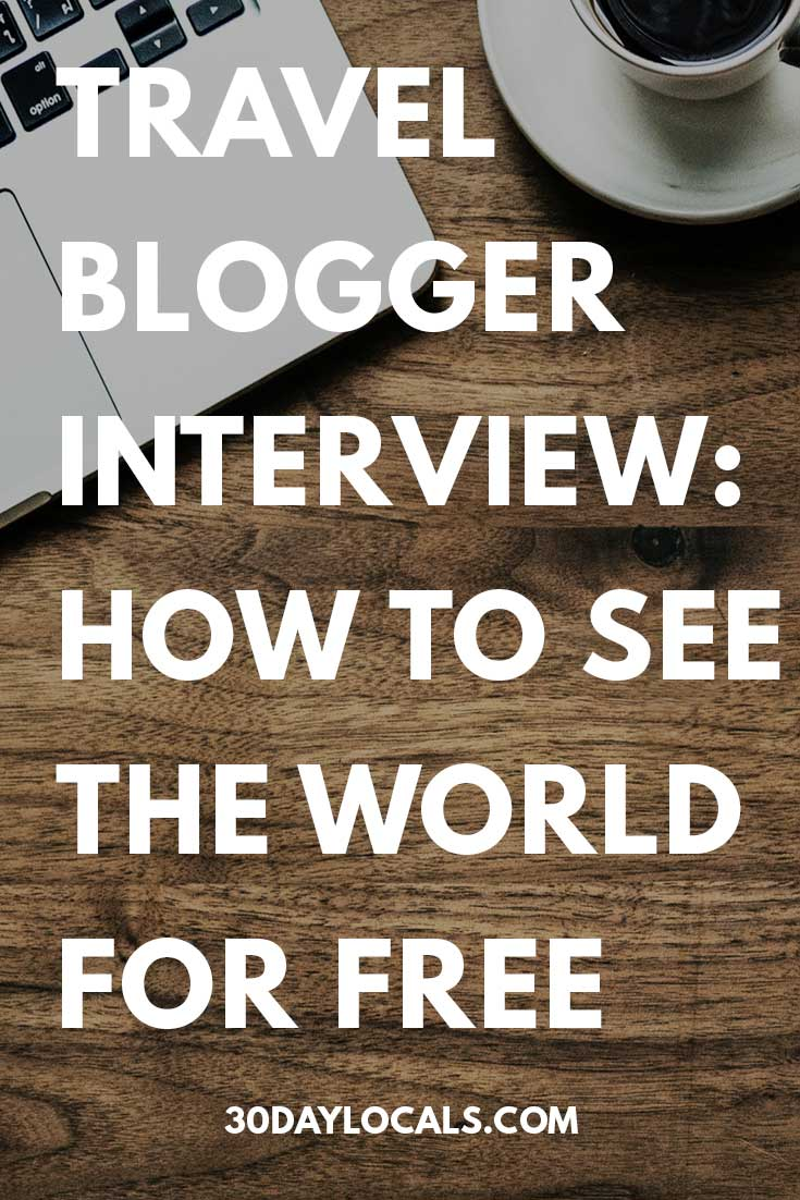Want to be a travel blogger? This interview series talks to top travel bloggers to see what it takes to make money while traveling. Learn how to see the world for free.