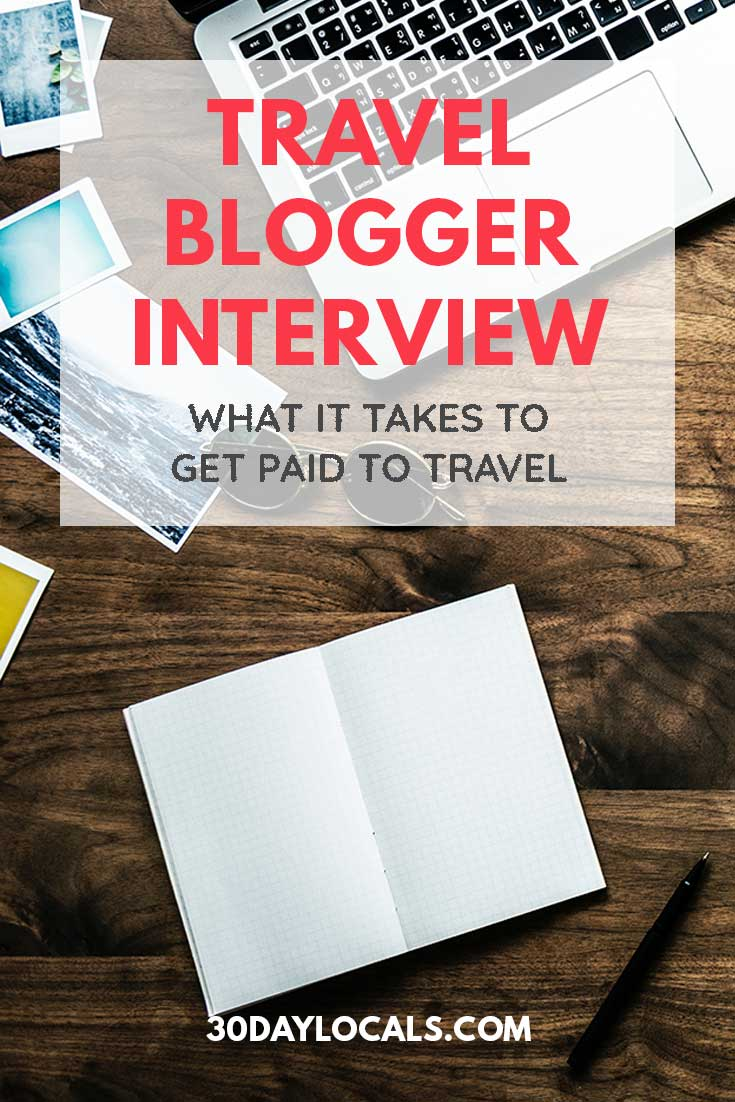 Want to be a travel writer? This interview series talks to top travel bloggers to see what it takes to make money while traveling. Learn how to get paid to travel.