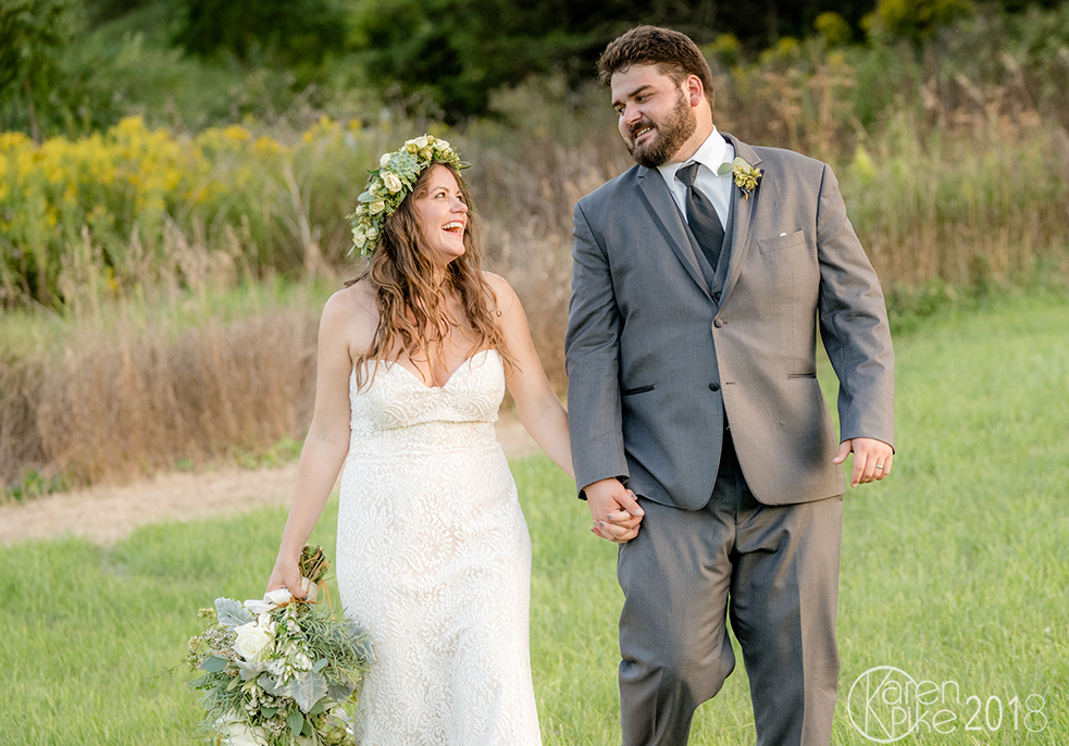 John and Emily were married on August 30 at  The Old Lantern  in Charlotte. It was a picture perfect day, the sun was shining and love was in the air.