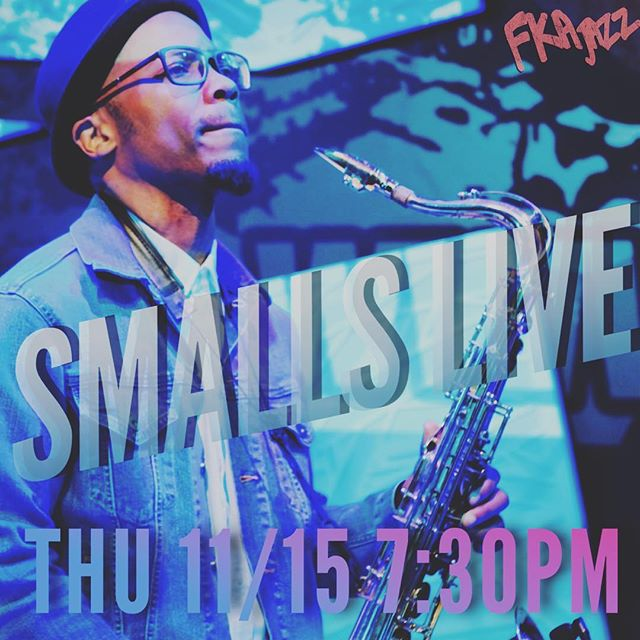 Sometimes you gotta switch up your routine, Jazz it up a little. Lookin to do so? Come down to @smallsjazzclub this Thursday! @fkajazz will hold down the rest... I may even get my Louis Armstrong Gene Greene on 🎤🎷🥁🎹🎺 #datenight #jazzitup #vibes #jazz #grooves #vibes #legendary #nycnights