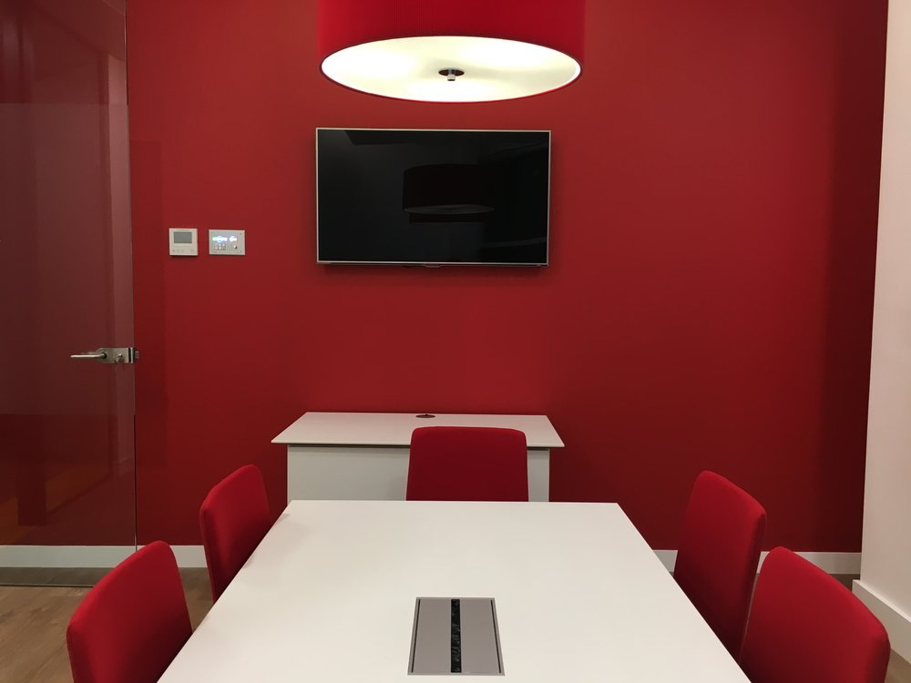 Axis Communications Meeting Rooms