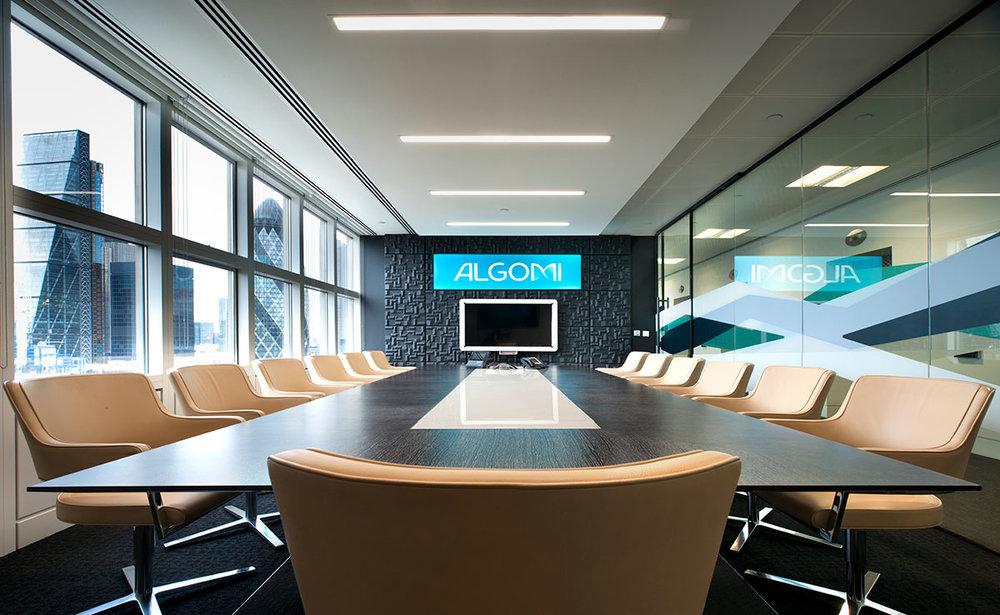 Algomi Boardroom