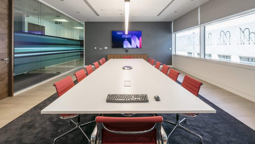 Neon Underwriting Lifesize Boardroom
