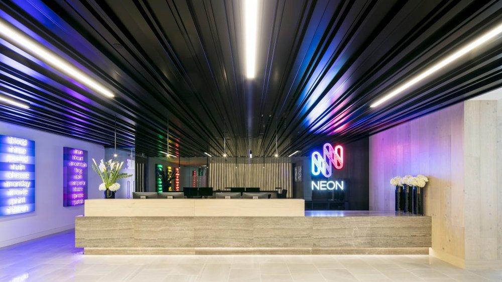 Neon Reception