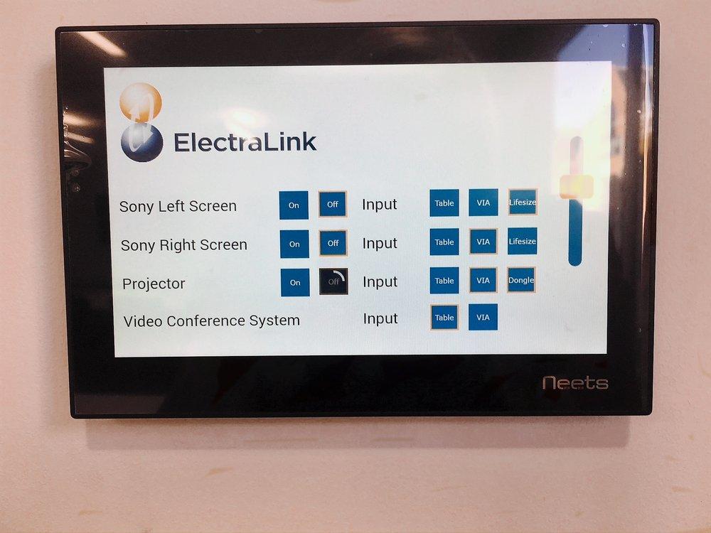 ElectraLink Branded Control System